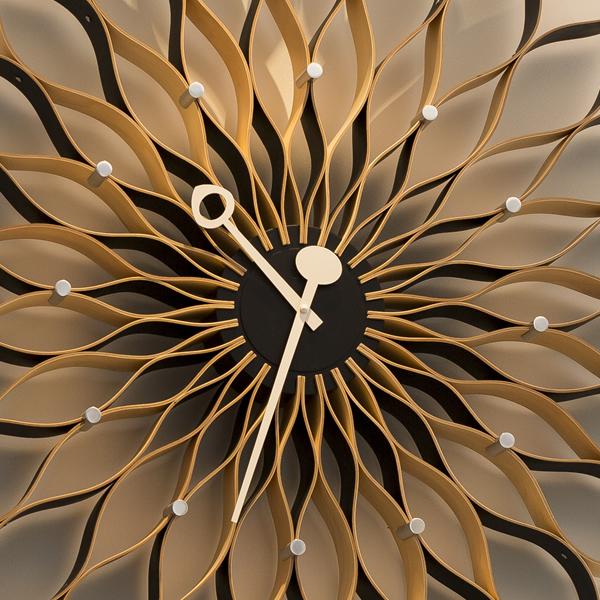 待合室の時計